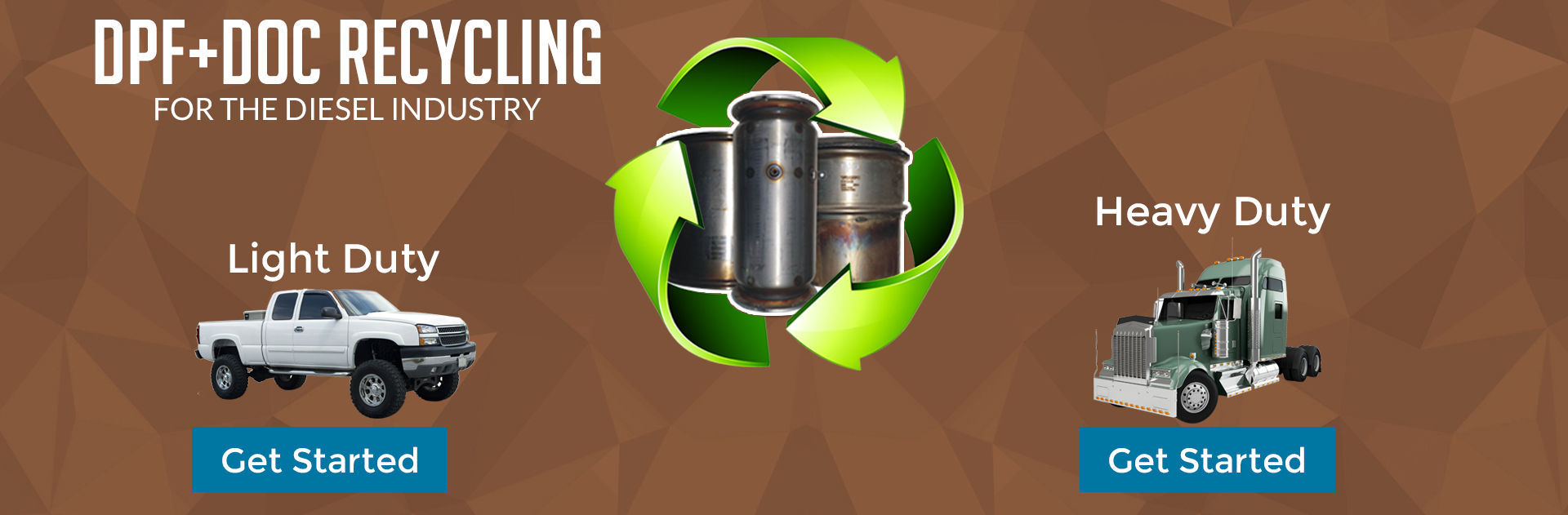 DPF & DOC Recycling for the diesel industry. We purchase ...